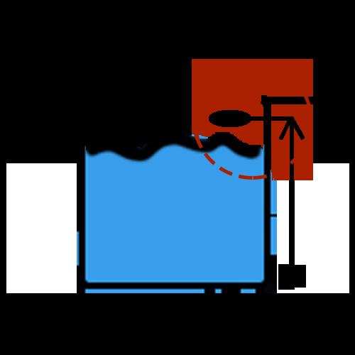 hladinový snímač